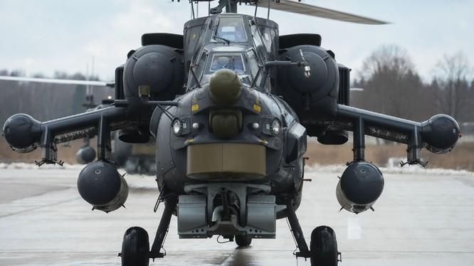 """Trực thăng tấn công Mi-28 - """"Thợ săn đêm""""."""