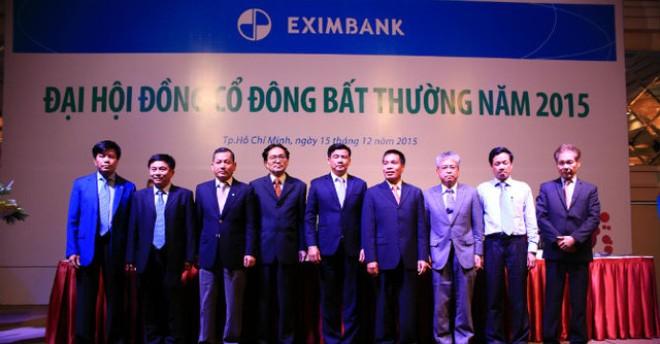 Ông Lê Văn Quyết được bầu làm thành viên HĐQT Eximbank từ ngày 15/12/2015.