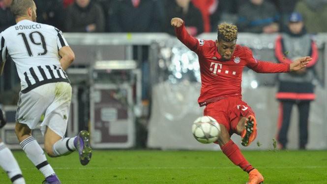 """""""Hạt nhận"""" trong màn lội ngược dòng nghẹt thở của Bayern Munich, Kingsley Coman, lại được mượn từ chính... Juventus."""