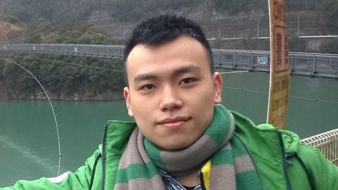 Hải Khánh trong lần đến Nhật Bản tham gia chương trình giao lưu văn hóa, công nghệ JENESYS 2.0 - Ảnh: NVCC