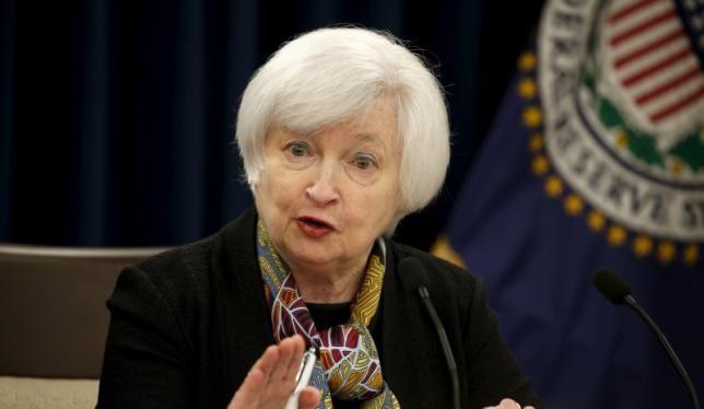 Chủ tịch FED bà Janet Yellen. Ảnh: Reuters