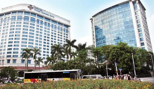 Tổ hợp Khách sạn Daewoo thuộc sở hữu của Hanel.