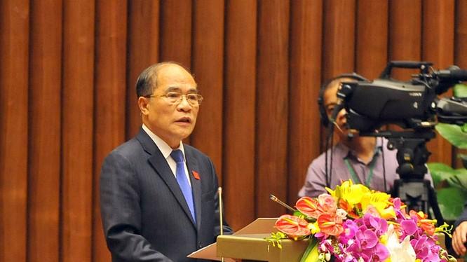 Chủ tịch QH Nguyễn Sinh Hùng: QH khóa 13 hoàn thành công việc đồ sộ về lập pháp
