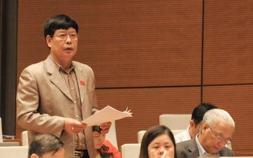 Đại biểu Phạm Xuân Thường còn băn khoăn về báo cáo nhiệm kỳ của Chủ tịch nước.