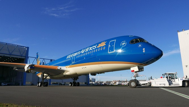 Airbus A350 của VNA.