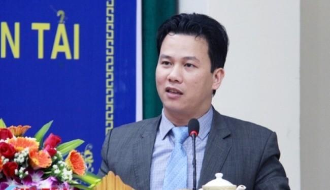 Ông Đặng Quốc Khánh, tân chủ tịch Ủy ban nhân dân tỉnh Hà Tĩnh.