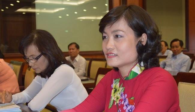 Một số gương mặt phụ nữ là đại biểu HĐND TPHCM tại kỳ họp HĐND thành phố ngày 21-4 vừa qua. Ảnh: Văn Nam