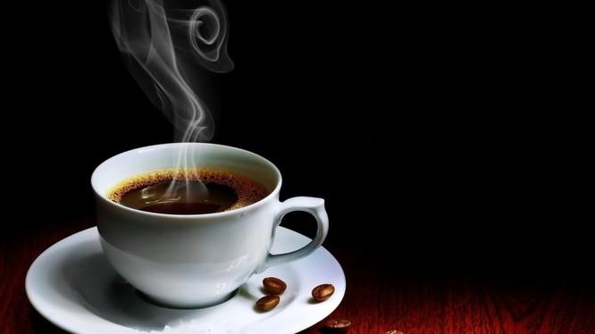 Buổi sáng ở quán cà phê