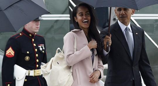 Malia Obama sẽ vào ĐH Harvard mùa thu năm 2017. Ảnh: AP