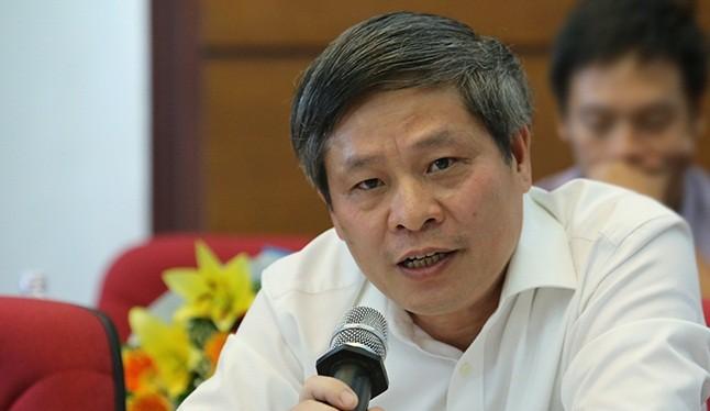 Thứ trưởng Bộ KH&CN Phạm Công Tạc.