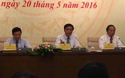Hội đồng Bầu cử Quốc gia họp báo về công tác chuẩn bị cho ngày bầu cử đại biểu Quốc hội khoá 14