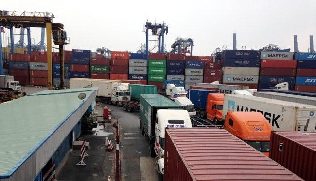 Việc hình thành các cảng cạn là nhằm giảm tải cho cảng biển lớn. Ảnh: Anh Quân