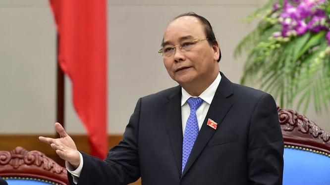Thủ tướng Chính phủ Nguyễn. Xuân Phúc