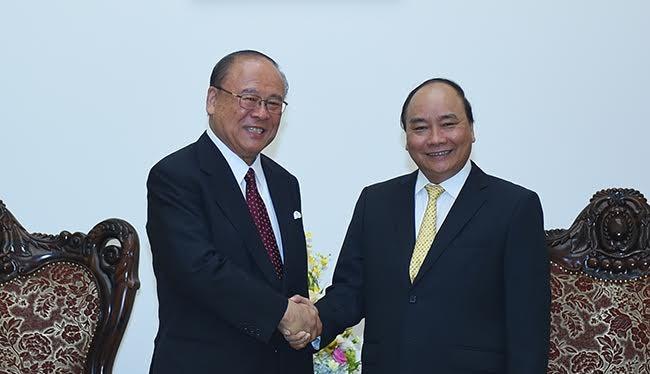 Thủ tướng tiếp cố vấn đặc biệt của Liên minh Nghị sĩ hữu nghị Nhật - Việt