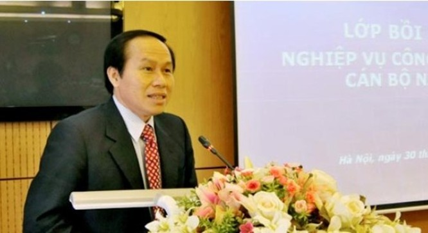 Tân Thứ trưởng Bộ Tư pháp Lê Tiến Châu.