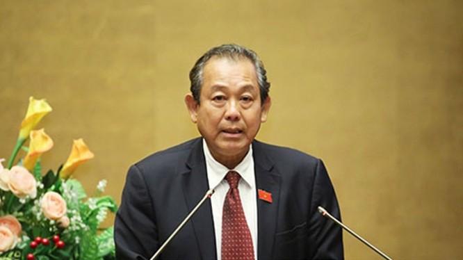 Phó Thủ tướng Trương Hòa Bình, Trưởng Ban Chỉ đạo 138/CP.