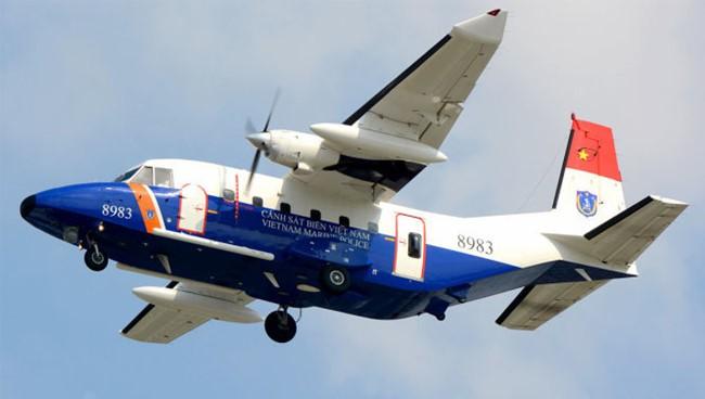 Máy bay CASA 212 của Quân chủng Phòng không - Không quân bị tai nạn ngày 16/6/2016.
