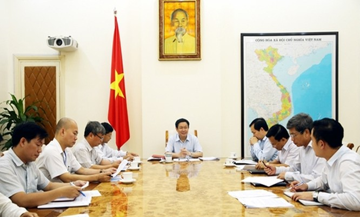 Cuộc họp của Thường trực Hội đồng tư vấn chính sách tài chính tiền tệ quốc gia.