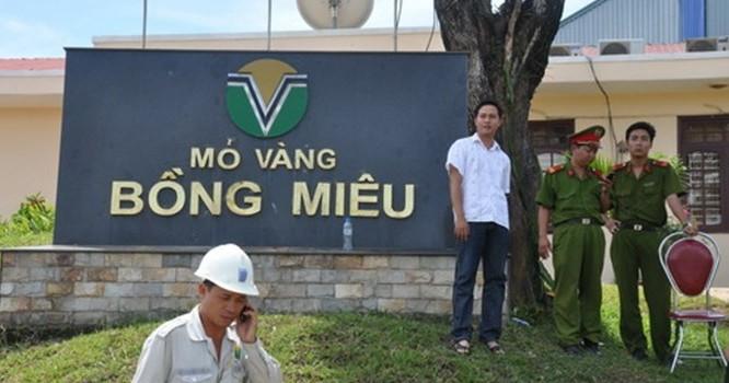 Chính phủ chỉ đạo kiểm tra thông tin Cty Bồng Miêu hết giấy phép vẫn khai thác vàng.