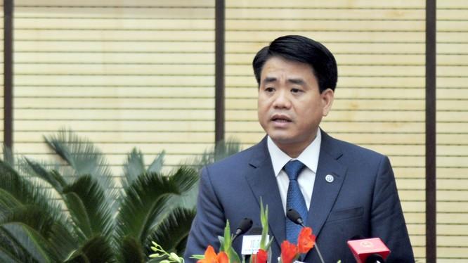 Chủ tịch UBND Tp. Hà Nội, Nguyễn Đức Chung.