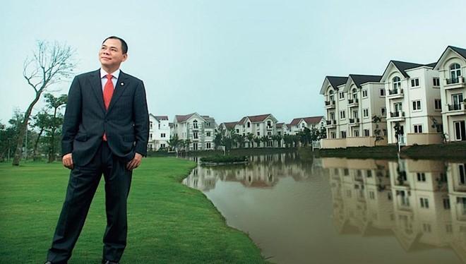 Ông Phạm Nhật Vượng đang là người Việt duy nhất có tên trong danh sách những người giàu nhất thế giới do Forbes bình chọn