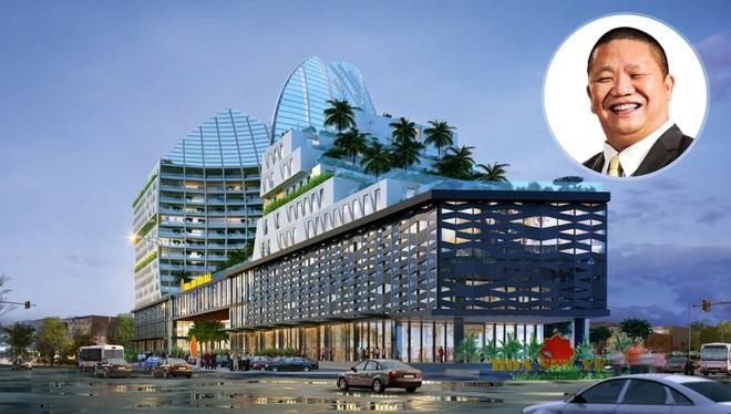 Phối cảnh Tổ hợp khách sạn Hoa Sen 4 sao tại TP Yên Bái