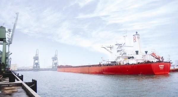Khu liên hợp gang thép và cụm cảng nước sâu Sơn Dương do tập đoàn Formosa đầu tư tại Hà Tĩnh. Ảnh: hatinh.gov.vn