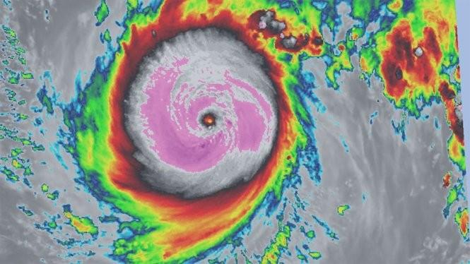 siêu bão NEPARTAK hình thành trên vùng biển đông bắc đảo Luzon (Philippines) với gió mạnh nhất gần tâm bão đạt cấp 17 (khoảng 200 - 220km/giờ).
