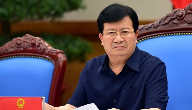 Phó Thủ tướng Chính phủ, Trịnh Đình Dũng.