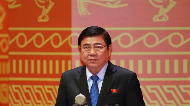 ông Nguyễn Thành Phong, Ủy viên Ban Chấp hành Trung ương Đảng, Phó Bí thư Thành ủy, Chủ tịch UBND thành phố Hồ Chí Minh nhiệm kỳ 2016- 2021.