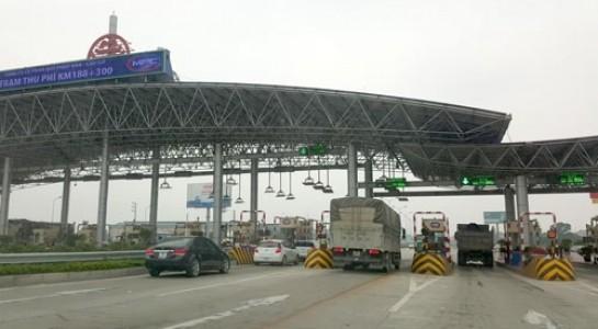 Một trạm thu phí trong Dự án BOT Pháp Vân - Cầu Giẽ. (Ảnh: Internet)