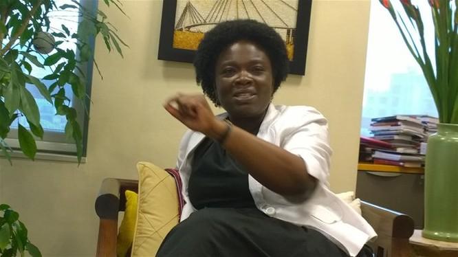 Bà Victoria Kwakwa. Ảnh TG