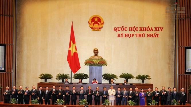 Quốc hội phê chuẩn các thành viên Chính phủ nhiệm kỳ 2016- 2021