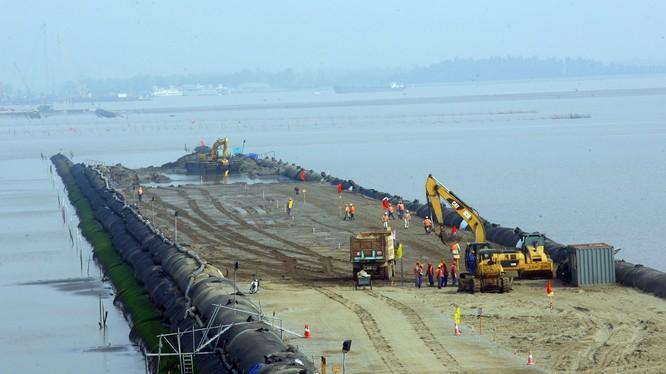 Dự án đường ô tô Tân Vũ - Lạch Huyện, thành phố Hải Phòng