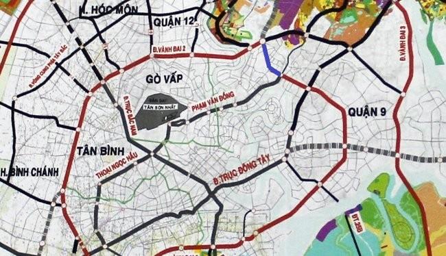 TP. HCM: 2.700 tỷ đồng để làm 2,7km đường theo hình thức BT.