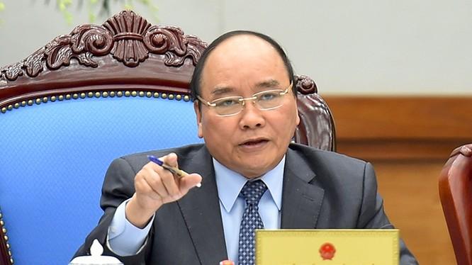 Thủ tướng yêu cầu thực hiện nghiêm việc không chúc Tết lãnh đạo. - Ảnh: VGP/Quang Hiếu