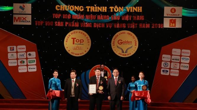 VietABank lọt top 100 nhãn hiệu hàng đầu Việt Nam năm 2016.