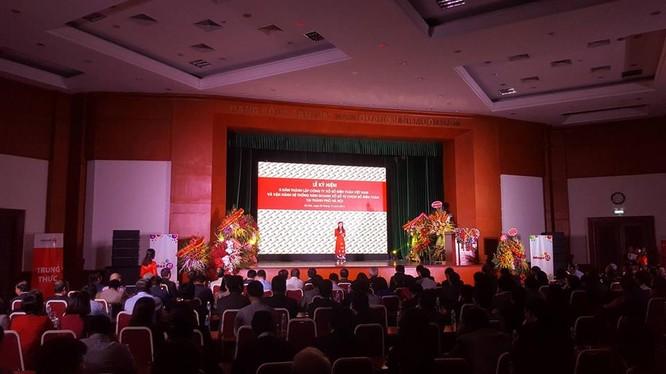 Buổi lễ kỷ niệm 05 năm thành lập Vietlott và vận hành hệ thống kinh doanh xổ số tự chọn số điện toán tại thành phố Hà Nội
