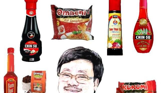 Masan Consumer nổi tiếng với các dòng sản phẩm như nước mắm Chinsu, Nam Ngư, nước tương Chinsu, mì Omachi...