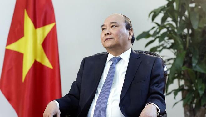 Thủ tướng Nguyễn Xuân Phúc (Ảnh: Maika Elan/Bloomberg)