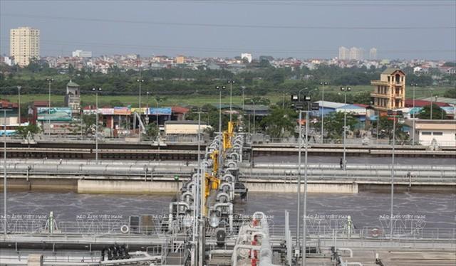 Nhà máy xử lý nước thải Yên Sở tại khu đô thị Gamuda City có vốn đầu tư lên tới 250 triệu USD.