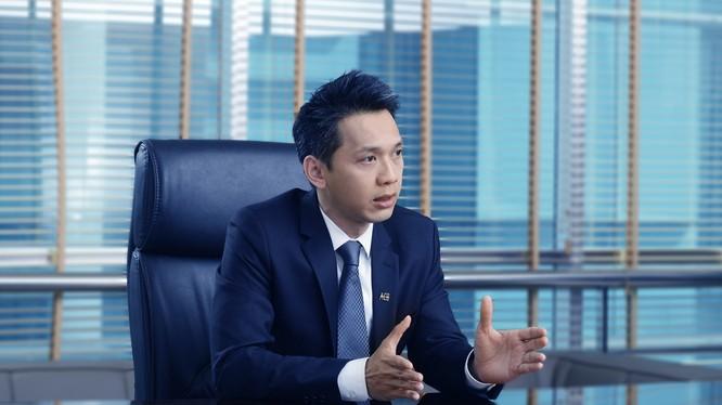 Chủ tịch HĐQT Ngân hàng ACB, Trần Hùng Huy.