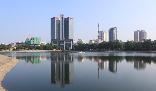 Ý tưởng lấp hồ Thành Công đang làm nóng dư luận. (Ảnh: Internet)