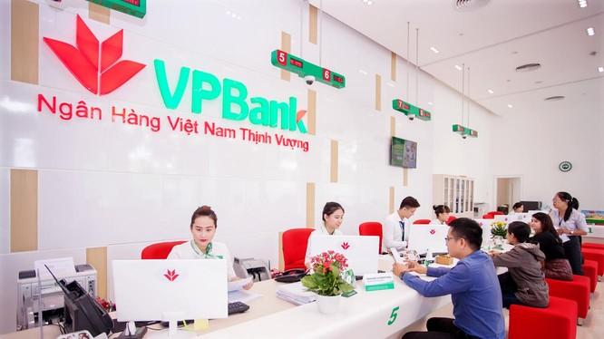 Tính chung 3 tháng đầu năm 2017, VPBank báo lãi hợp nhất trước thuế ở mức hơn 1.900 tỷ đồng, tăng hơn 85% so với cùng kỳ 2016. (Ảnh: VPBank)