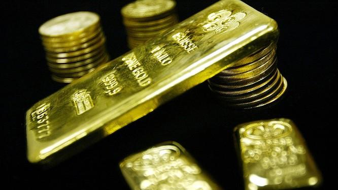 USD mất đà, giá vàng được thể