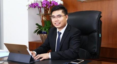 Phó Chủ tịch kiêm Tổng Giám đốc Phan Tấn Đạt trở thành người đại diện theo pháp luật mới của DRH. (Ảnh: DRH)