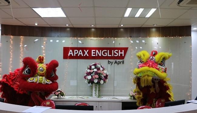 Chưa cần đấu giá cổ phiếu, Apax Holdings đã thâu tóm xong Apax English. (Ảnh: Internet)