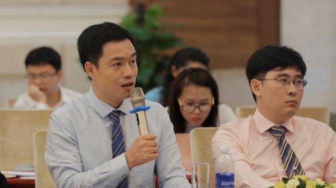Ông Lê Đức Khánh – Giám đốc chiến lược của Công ty Chứng khoán HSC. (Ảnh: Bizlive)
