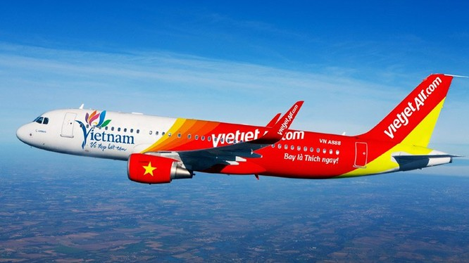 Vietjet Air: Công ty mẹ báo lãi 667 tỷ đồng trong nửa đầu 2017. (Ảnh: Internet)