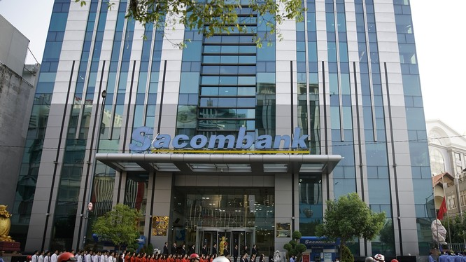 Sau soát xét, Sacombank bất ngờ báo lãi thêm 64,3 tỷ đồng. (Ảnh: STB)